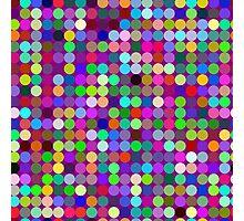 Circles on lilac Photographic Print