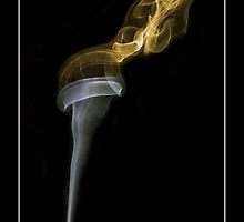 Incense Smoke Torch by Louise Wolfers