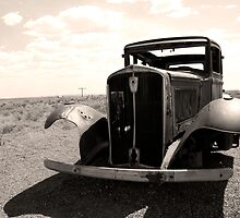 a rusty coupe by birus