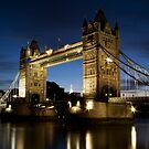 London Tower Bridge by Samuel Tonin