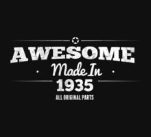 Awesome Made in 1935 All Original Parts by rardesign