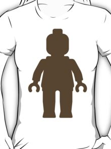 Minifig [Large Light Brown], Customize My Minifig T-Shirt