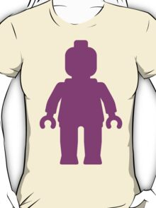 Minifig [Large Dark Pink], Customize My Minifig T-Shirt