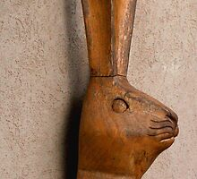Wooden Hare by Betty Mackey