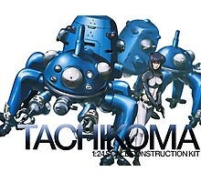 Tachikoma 1:24 construction kit Photographic Print