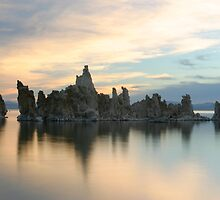 Tufas at Sunrise by Christophe Testi