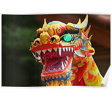 Dancing Dragon Poster