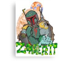 Boba Fett Zombie Canvas Print