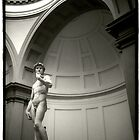 Michaelangelo&#x27;s David by laurencedodd