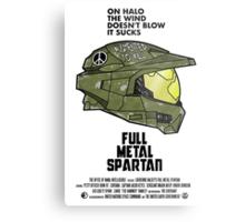 Full Metal Spartan Metal Print