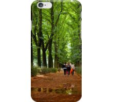 Walking the Boulevarde [square] iPhone Case/Skin