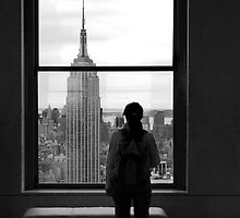 A Lonely View - NY by Xpresso