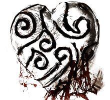 bleeding heart by Deboir