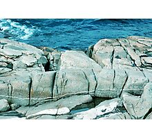 Large Rocks Photographic Print
