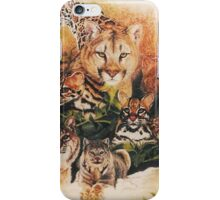 Feline Rhapsody iPhone Case/Skin