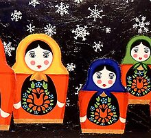Matryoshka by Anni Morris