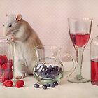 Jimmy in still life by Ellen van Deelen