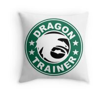 Dragon trainer Throw Pillow