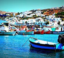 Feeling Nostalgic On The Water In Mykonos, Greece by jessonajourney