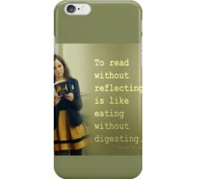 REFLECTIONS ON READING iPhone Case/Skin