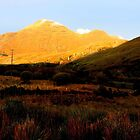 Golden Sunset in Connemara by EithneMMythen