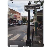 Rain Soaked Dumaine - New Orleans, LA iPad Case/Skin