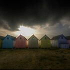 Mersea Island Beach Huts by Nigel Bangert