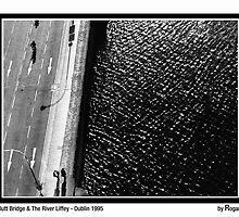 Butt Bridge & the River Liffey Dublin City by Philip  Rogan