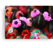 Chinese Dancer Canvas Print