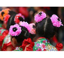 Chinese Dancer Photographic Print