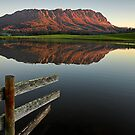 Mount Roland Reflections by Peter Daalder