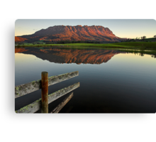 Mount Roland Reflections Canvas Print