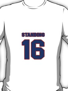 National Hockey player George Standing jersey 16 T-Shirt