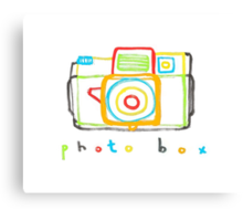 photo box Canvas Print