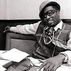 Hipster in Black & White 2 by David Mann