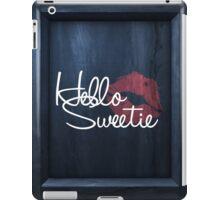 Hello Sweetie iPad Case/Skin