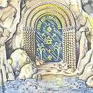 Entrance to Moria by Cristina  Marsi