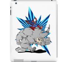 Spider-man riding Rhino iPad Case/Skin