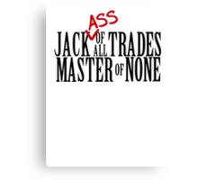 JackAss Canvas Print