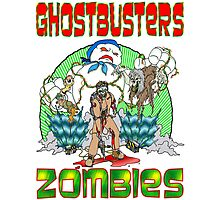 Zombie Ghostbusters Photographic Print