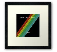 Old skool gaming - spectrum Framed Print