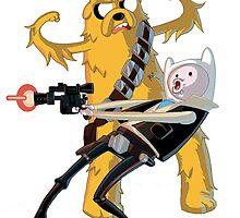 Finn & Jake - Star Wars by MonHood