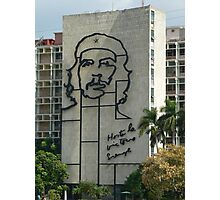 Che Guevara Sculpture Photographic Print