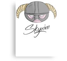 Skyrim Metal Print