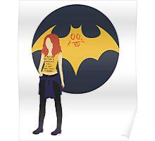 Batgirl Minimal Poster