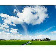 Summer landscape Photographic Print