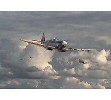 Spitfire - Strike Force Photographic Print