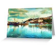Beautiful Brixham Greeting Card