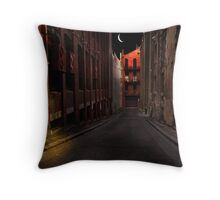 A life on the street Throw Pillow