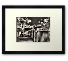 Mack  B model in Black and White Framed Print